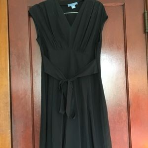 Anthropologie Lil Petites Black Dress